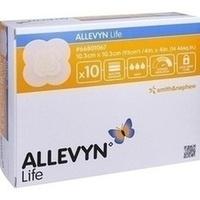 ALLEVYN LIFE 10.3x10.3cm, 10 ST, Smith & Nephew GmbH