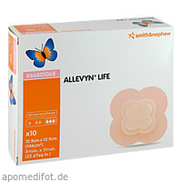 ALLEVYN LIFE 12.9x12.9cm, 10 ST, Smith & Nephew GmbH