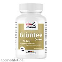Grüntee Kapseln 80/45 Deluxe, 60 ST, Zein Pharma - Germany GmbH