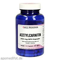 Acetylcarnitin 250mg GPH Kapseln, 120 ST, Hecht-Pharma GmbH