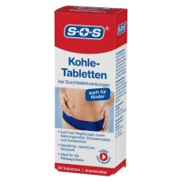SOS Kohle-Tabletten, 30 ST, DISTRICON GmbH