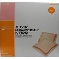 ALLEVYN Schaumverband Haftend 22x23cm, 12 ST, Smith & Nephew GmbH