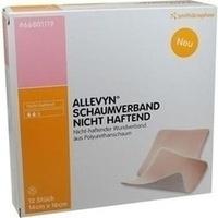 ALLEVYN Schaumverband Nicht Haftend 14x16cm, 12 ST, Smith & Nephew GmbH