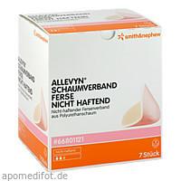 ALLEVYN Schaumverband Ferse Nicht Haftend, 7 ST, Smith & Nephew GmbH