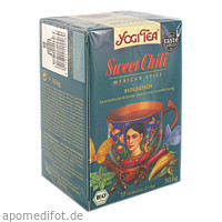 YOGI TEA SWEET CHILI BIO, 17X1.8 G, Taoasis GmbH Natur Duft Manufaktur