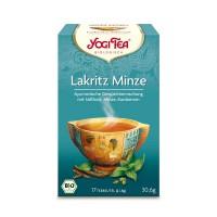 YOGI TEA LAKRITZ MINZE BIO, 17X1.8 G, Taoasis GmbH Natur Duft Manufaktur