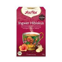 YOGI TEA INGWER HIBISKUS BIO, 17X2 G, Taoasis GmbH Natur Duft Manufaktur