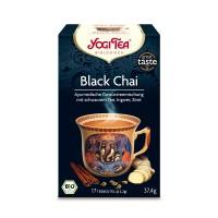 YOGI TEA BLACK CHAI BIO, 17X2.2 G, Taoasis GmbH Natur Duft Manufaktur