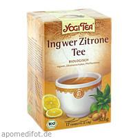 YOGI TEA INGWER ZITRONE BIO, 17X1.8 G, Taoasis GmbH Natur Duft Manufaktur