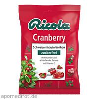 Ricola oZ Cranberry, 75 G, Queisser Pharma GmbH & Co. KG