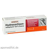 Hydrocortison-ratiopharm 0.5% Creme, 30 G, ratiopharm GmbH