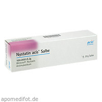 Nystatin acis Salbe, 20 G, Acis Arzneimittel GmbH