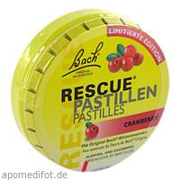 Bach Original Rescue Pastillen Cranberry, 50 G, Nelsons GmbH