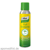 efasit Classic Fuß Deospray, 150 ML, Kyberg experts GmbH