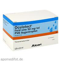 Oculotect Fluid sine PVD Augentropfen, 120X0.4 ML, Alcon Deutschland GmbH