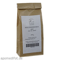 Holunderbeeren ganz, 100 G, Apofit Arzneimittelvertrieb GmbH