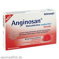 tetesept Anginosan Kirsche Lutschtabletten zfr., 20 ST, Merz Consumer Care GmbH