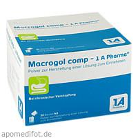 MACROGOL comp 1A Pharma Plv.z.Her.e.Lsg.z.Einn., 50 ST, 1 A Pharma GmbH