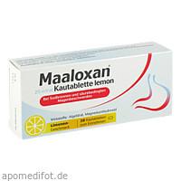 Maaloxan 25mVal Kautablette lemon, 30 ST, Sanofi-Aventis Deutschland GmbH GB Selbstmedikation /Consumer-Care