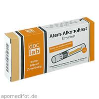 Alkoholtest Atem 0.50 0/00 0.50mg/l, 1 ST, Doclab GmbH