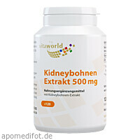 Phaseolin Kidney-Bohnen, 120 ST, Vita World GmbH