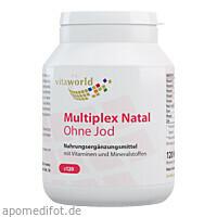 Multiplex Natal ohne Jod, 120 ST, Vita World GmbH