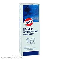 EMSER Nasendusche Nasanita m.4 Btl.Nasenspülsalz, 1 ST, SIEMENS & Co
