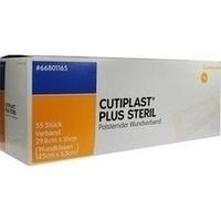 Cutiplast 10x29.8cm plus steril, 55 ST, Smith & Nephew GmbH