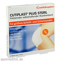 Cutiplast 10x7.8cm plus steril, 5 ST, Smith & Nephew GmbH