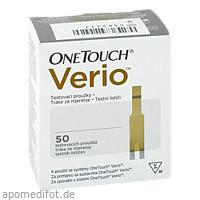 One Touch Verio Teststreifen, 50 ST, Diaprax GmbH