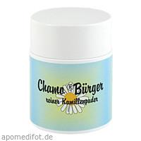 Chamo Bürger Kamillenpuder, 75 G, Johannes Bürger Ysatfabrik GmbH