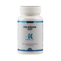 Folsäure 400mcg, 100 ST, Supplementa Corporation B.V.
