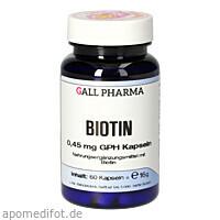 Biotin 0.45 mg GPH Kapseln, 60 ST, Hecht-Pharma GmbH