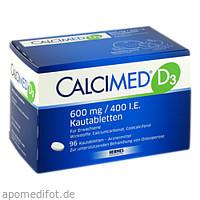 Calcimed D3 600mg/400 I.E., 96 ST, Hermes Arzneimittel GmbH