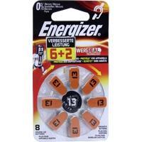 Energizer Hörgerätebatterie 13 (6+2), 8 ST, Wellneuss GmbH & Co. KG