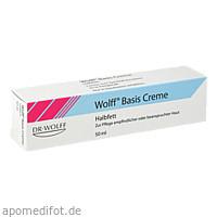 WOLFF BASIS CREME HALBFETT, 50 ML, Dr. August Wolff GmbH & Co. KG Arzneimittel