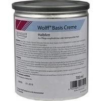 WOLFF BASIS CREME HALBFETT, 700 ML, Dr. August Wolff GmbH & Co. KG Arzneimittel