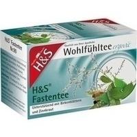 H&S Wohlfühltee Fastentee, 20X1.5 G, H&S Tee - Gesellschaft mbH & Co.