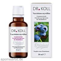 Gemmoextrakt Heidelbeere, 50 ML, Dr. Koll Biopharm GmbH