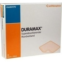 DURAMAX 10cmx10cm, 10 ST, Smith & Nephew GmbH