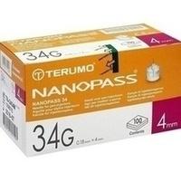 TERUMO NANOPASS 34 Penkanüle 34G 0.18X4mm, 100 ST, Medita-Diabetes GmbH