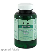 Magnesiumcitrat, 120 ST, 11 A Nutritheke GmbH