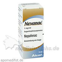 Nevanac 1 mg/ml Augentropfensuspension, 5 ML, Novartis Pharma GmbH