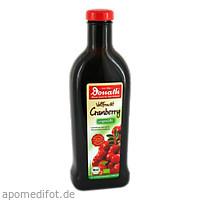Donath Cranberry ungesüßt Bio Vollfrucht, 500 ML, Hübner Naturarzneimittel GmbH
