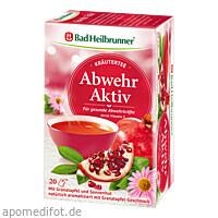 Bad Heilbrunner Kräutertee Abwehr Aktiv, 20 ST, Bad Heilbrunner Naturheilm. GmbH & Co. KG