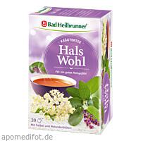 Bad Heilbrunner Kräutertee Hals Wohl, 20X2.0 G, Bad Heilbrunner Naturheilm. GmbH & Co. KG