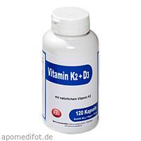 Vitamin K2 + D3 Berco, 120 ST, Berco-ARZNEIMITTEL