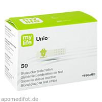 mylife Unio Blutzucker-Teststreifen, 50 ST, Ypsomed GmbH