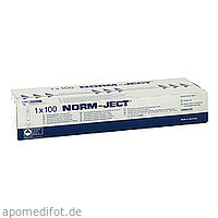 NORMJECT 2ml 2tlg.Spritzen, 100 ST, 1001 Artikel Medical GmbH