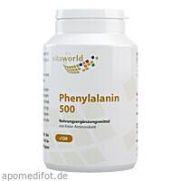 PHENYLALANIN 500 mg Kapseln, 120 ST, Vita World GmbH